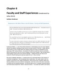 Faculty and Staff Experiences (Kathleen Henderson, Versalle Washington, Kenya Crosson)