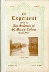Exponent, April-May 1913, Vol. XI, no. 4-5 by University of Dayton
