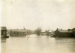 Looking eastward on West Fourth Street during 1913 flood