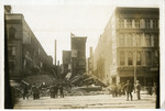 Building destroyed in 1913 flood and ensuing fires on South Main Street
