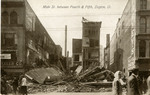 Building destroyed in 1913 flood on South Main Street