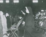 Mass in Fieldhouse