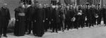 1916 Commencement, Academic procession