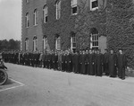 1915 Commencement, Academic procession
