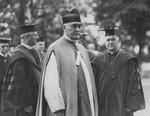 1926 Commencement, Academic procession
