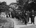 1932 Commencement, Academic procession