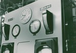 Boiler control panel in Physical Plant