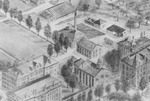 Drawing of campus