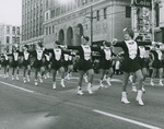 Flyerettes marching