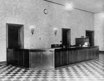 Albert Emanuel Library circulation desk