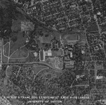 Aerial view of campus, 1948