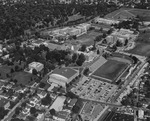 Aerial view of campus, 1959