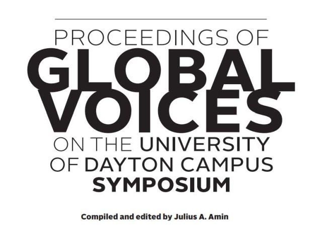 Proceedings: Global Voices on the University of Dayton Campus
