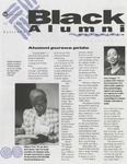 Black Alumni Chronicle, Fall 1996 by University of Dayton