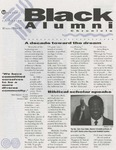 Black Alumni Chronicle, Winter 1996-97