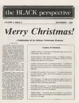 The Black Perspective December 1982