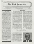 The Black Perspective February 1988 by University of Dayton. Black Action Through Unity