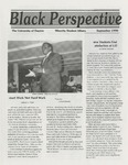 The Black Perspective September 1990 by University of Dayton. Black Action Through Unity