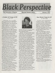 The Black Perspective January 1991 by University of Dayton. Black Action Through Unity