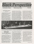 The Black Perspective April 1991 by University of Dayton. Black Action Through Unity