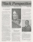 The Black Perspective October 1992 by University of Dayton. Black Action Through Unity