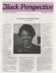 The Black Perspective September 1993 by University of Dayton. Black Action Through Unity