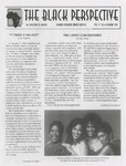 The Black Perspective January 1996 by University of Dayton. Black Action Through Unity