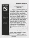 The Black Perspective November-December 2002 by University of Dayton. Black Action Through Unity