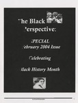 The Black Perspective February 2004 by University of Dayton. Black Action Through Unity