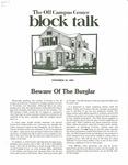 Block Talk (November 1983)
