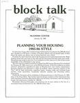Block Talk (January 1985)