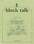 Block Talk (December 1985)