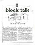 Block Talk (April 1986)