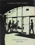 1971-1972 Bulletin