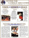Center for Catholic Education Newsletter, Fall 2002