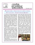 Center for Catholic Education Newsletter, Summer 2009