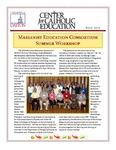 Center for Catholic Education Newsletter, Fall 2010 by University of Dayton