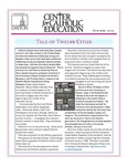 Center for Catholic Education Newsletter, Summer 2010