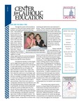 Center for Catholic Education Newsletter, Fall 2011
