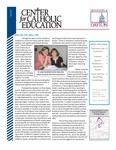Center for Catholic Education Newsletter, Fall 2011 by University of Dayton