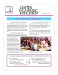 Center for Catholic Education Newsletter, Summer 2011