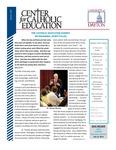 Center for Catholic Education Newsletter, Summer 2012 by University of Dayton