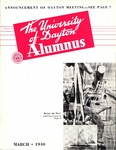 The University of Dayton Alumnus, March 1940 by University of Dayton Magazine