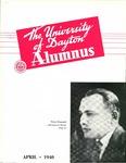 The University of Dayton Alumnus, April 1940 by University of Dayton Magazine