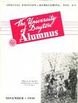 The University of Dayton Alumnus, November 1940 by University of Dayton Magazine