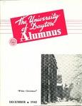 The University of Dayton Alumnus, December 1942 by University of Dayton Magazine