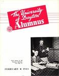 The University of Dayton Alumnus, February 1944 by University of Dayton Magazine