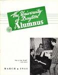 The University of Dayton Alumnus, March 1944 by University of Dayton Magazine