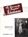 The University of Dayton Alumnus, November 1944 by University of Dayton Magazine