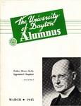 The University of Dayton Alumnus, March 1945 by University of Dayton Magazine